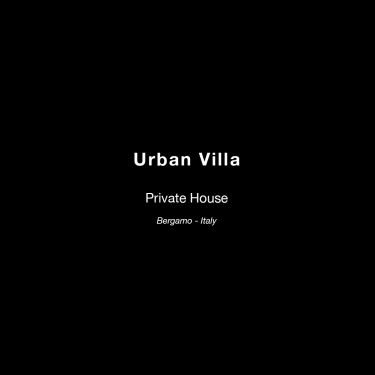 urban villa text