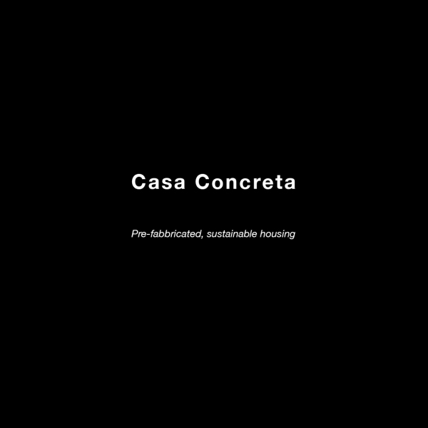 casa Concreta text