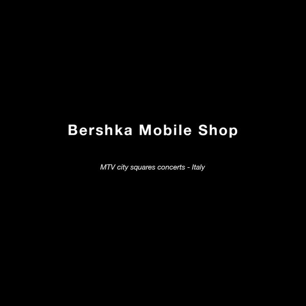 Bershka Text