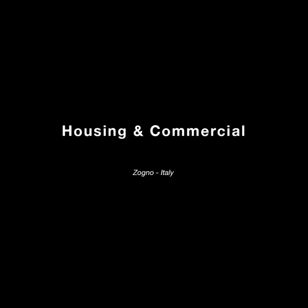 housing and commercial text