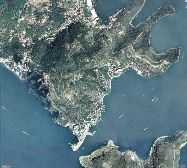 satellite porto venere