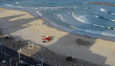 Tel Aviv Beach Sushi Bar