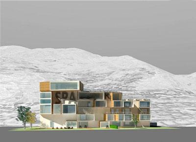 Zogno Housing complex